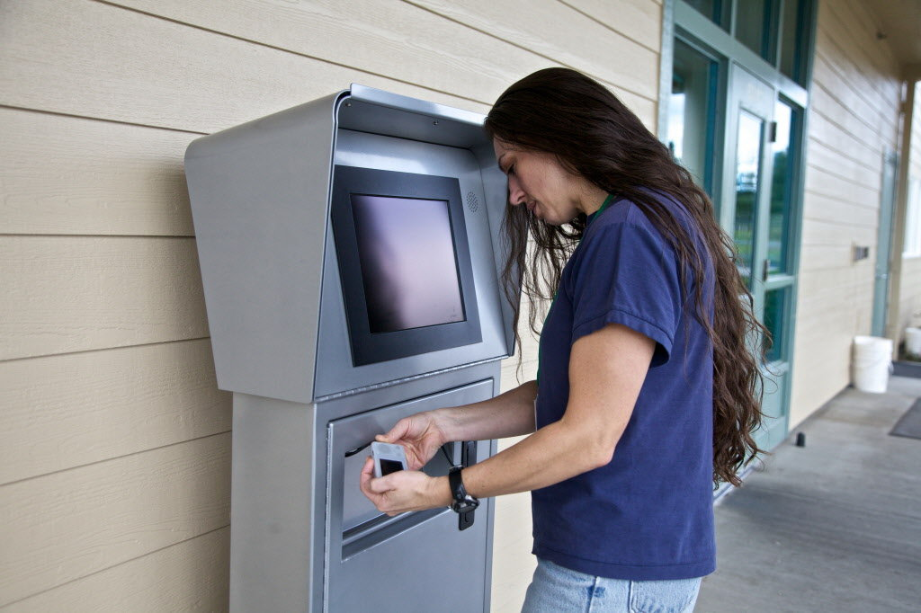 kiosk machine for inmates